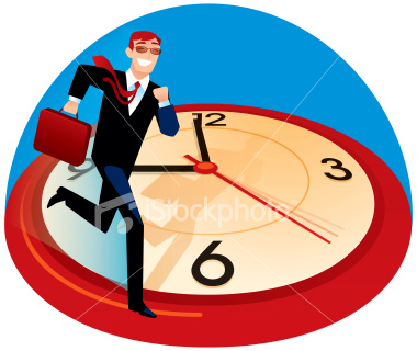 stock-illustration-393842-man-on-time
